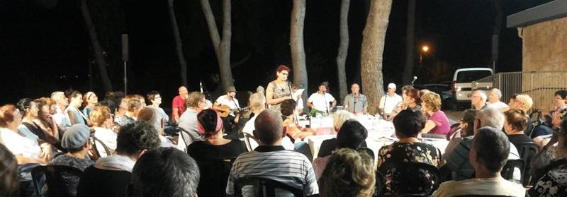 טיש קהילתי מספרי סיפורים זית עמק חפר
